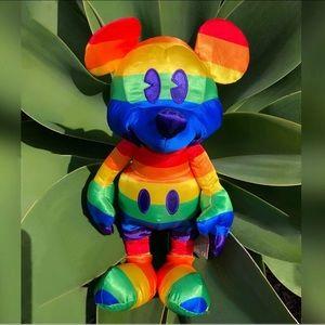 Mickey Mouse Rainbow Disney Plush 2019 Gay PrideLE
